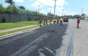 Zona Franca Puerto Plata agradece al MOPC apoyo en operativo de bacheo de calles