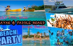 Kayak & Paddle beach party